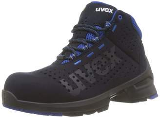 UVEX 1 Work Boots - Safety Boots S1 SRC ESD - Blue - Size 10 5