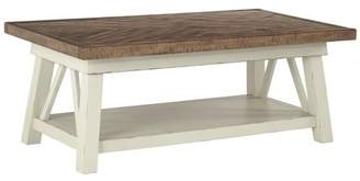 Signature Design by Ashley Stownbranner Sofa Table Two-tone
