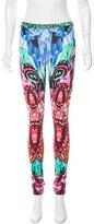 Just Cavalli Jewel Graphic Print Leggings w/ Tags