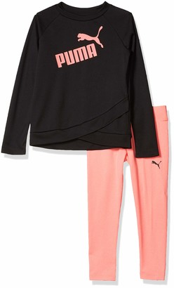 Puma Girls' Tee and Legging Set