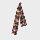 Paul Smith Men's Signature Stripe Wool-Cashmere Scarf