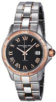 Raymond Weil Men's 2970-SG5-00208 Automatic Stainless Steel Case Black Dial Color Watch