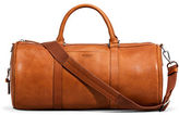 Shinola Medium Leather Duffle Bag
