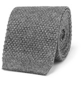 Loro Piana - 6cm Knitted Cashmere And Silk-blend Tie