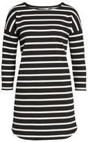 BB Dakota Women's 'Phillipa' Stripe Ponte Shift Dress