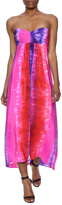 Amanda Uprichard Ombre Strapless Dress