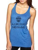 Allntrends Women's Tank Top A Girl Has No Name Cool Top (M, )