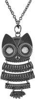 JCPenney Decree Owl Watch Pendant Necklace