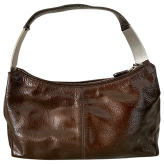 Tod's Brown Patent leather Handbags