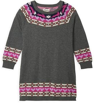 Hatley Little Girl's & Girl's Melange Sweater Dress