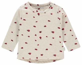 Noppies Baby Girls' G Tee Slim ls Cary AOP T-Shirt