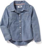 Old Navy Denim Shirt for Toddler Girls