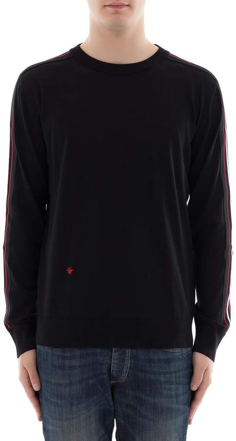 Christian Dior Black Wool Sweatshirt