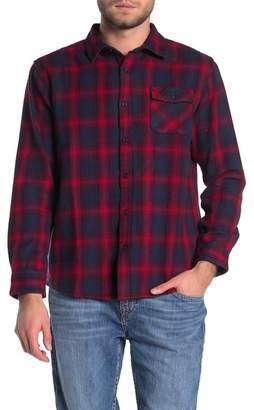 Rip Curl Juanico Plaid Flannel Regular Fit Shirt