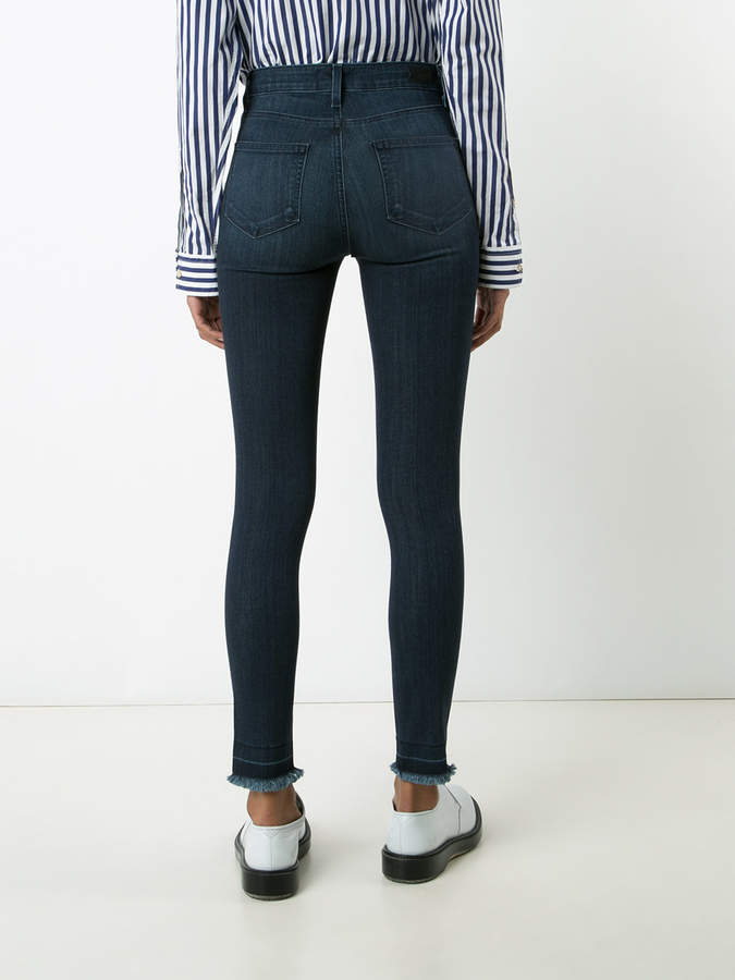 Paige 'Hoxton' frayed ankle jeans
