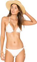 Vix Paula Hermanny Solid Lucy Bikini Top in White. - size M (also in )