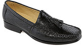 Belvedere Bari Tassel Crocodile and Ostrich Dress Loafers