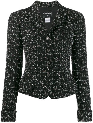 Chanel Pre Owned 2006 Buttoned Tweed Jacket