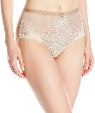 Wonderbra Women's Medium Control Panty with Chantilly Lace