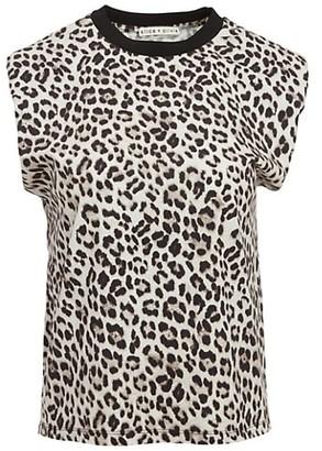 Alice + Olivia Braxton Sleeveless T-Shirt