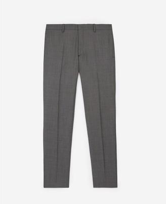 The Kooples Grey wool printed suit trousers