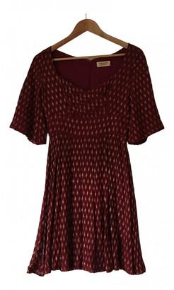Toast Red Silk Dresses
