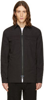 Helmut Lang Black Zip Shirt