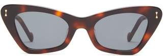 Zimmermann Tallow Cat-eye Acetate Sunglasses - Womens - Tortoiseshell