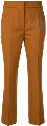 Cédric Charlier Slim-Fit Cropped Trousers