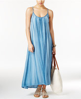 Raviya Acid-Wash Maxi Cover-Up