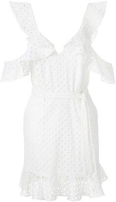 Olympiah Orchid laise dress