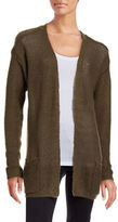 B. Young Manus Open Front Cardigan