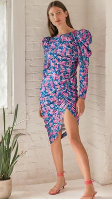 For Love & Lemons Annie Midi Dress
