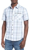 Hurley Men's 'Baxley' Dri-Fit Short Sleeve Woven Shirt