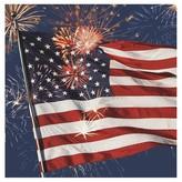 Fireworks Patriotic Paper Napkins - 16 Count