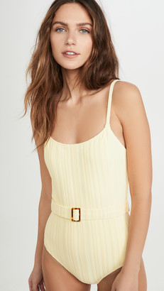 Solid & Striped Nina Belt One Piece Swimsuit