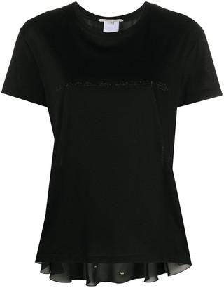 Marco De Vincenzo logo embossed T-shirt