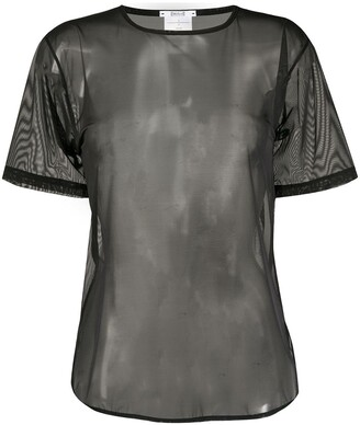Wolford Sheer Short Sleeve Top