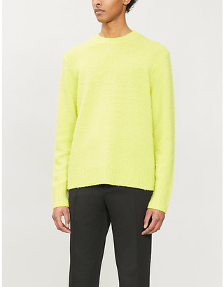 Acne Studios As Knit Crew Peele:Sharp Yellow:S