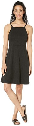 Toad&Co Samba Corfu Dress (Black) Women's Dress