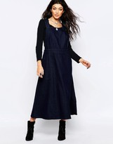 Free People Denim Apron Dress