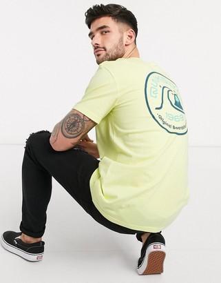 Quiksilver Close Call t-shirt in yellow