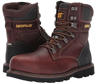 Caterpillar Indiana 2.0 Steel Toe (Brown) Men's Work Boots