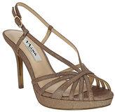 Nina Fenix Peep Toe Platform Sandals