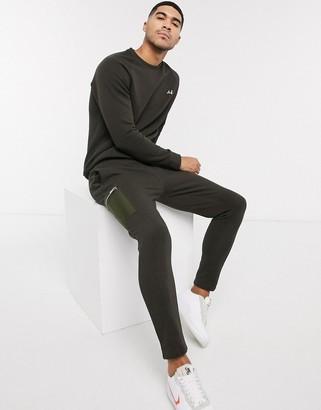 Burton Menswear MB Collection utility joggers in khaki