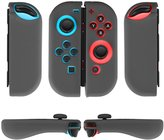 TNP Products TNP Nintendo Switch Joy-Con Grip Gel Guards with Thumb Grips Caps - Protective Case Covers Anti-Slip Ergonomic Lightweight Design Joy Con Comfort Grip Controller Skin Accessories