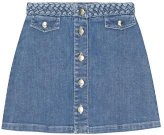 Chloé Kids Denim skirt