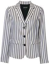 Emporio Armani striped blazer jacket