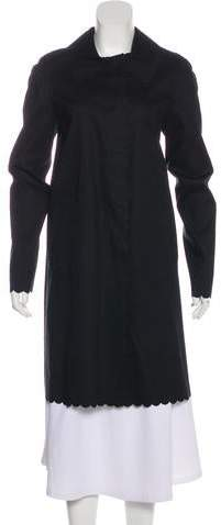 Marc Jacobs Long Sleeve Knee-Length Coat