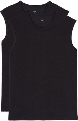 Find. Men's Vest Sleeveless Essential Pack of 2s